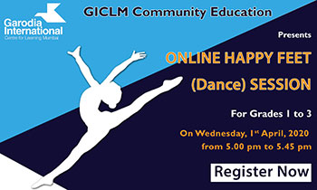 Online Happy Feet (Dance) Session.
